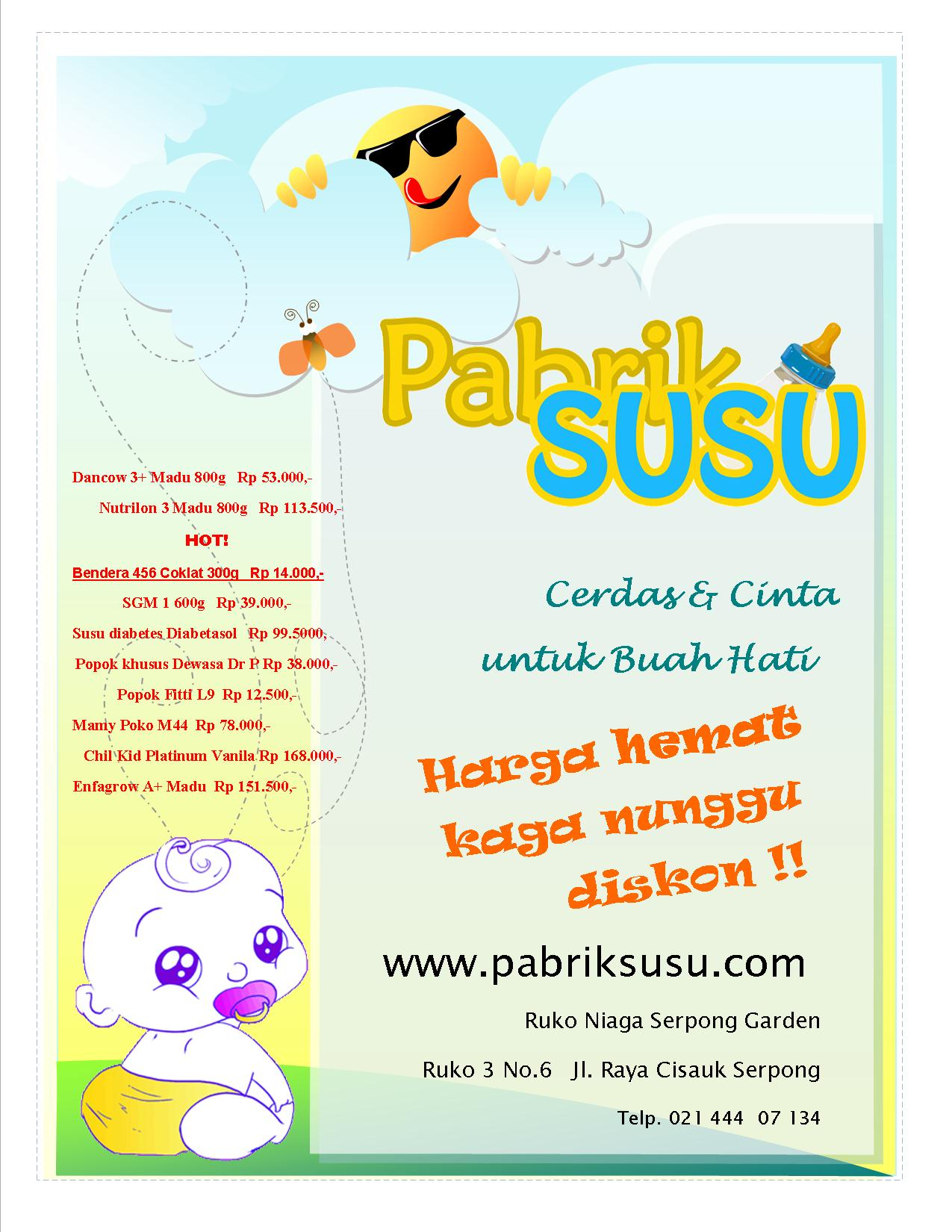 Pabrik SUSU 'soft launching'!!