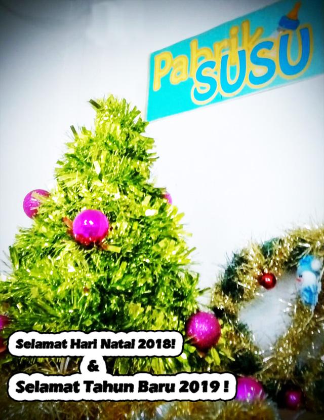 Selamat Natal 2018 dan Selamat Tahun Baru 2019 !