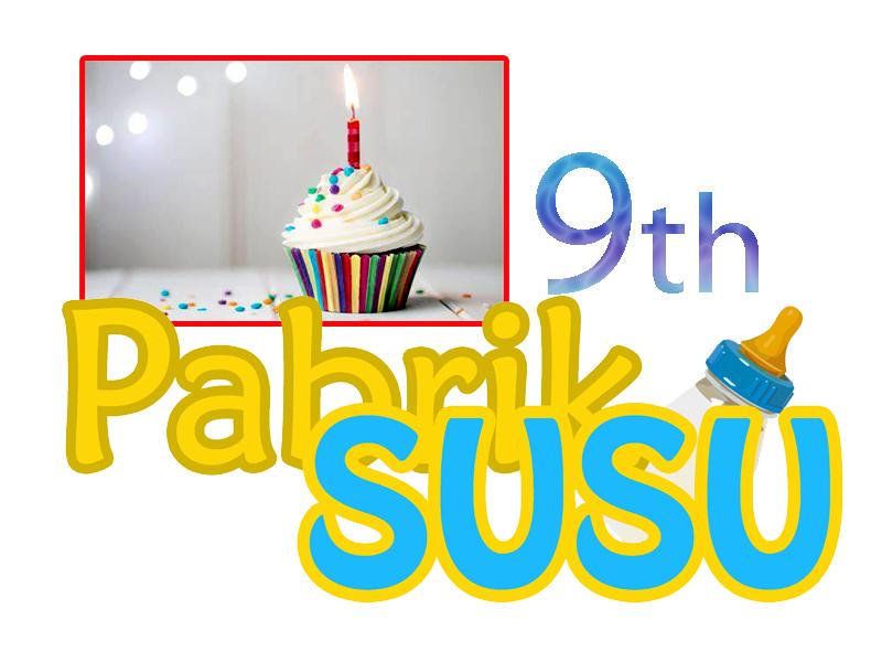 Pabrik SUSU 9 Tahun Melayani !