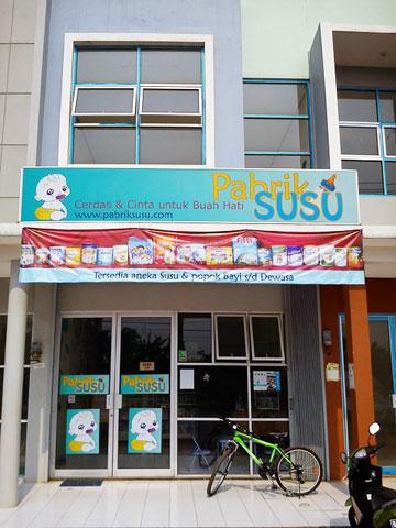 Toko Susu - Pabrik SUSU Cisauk